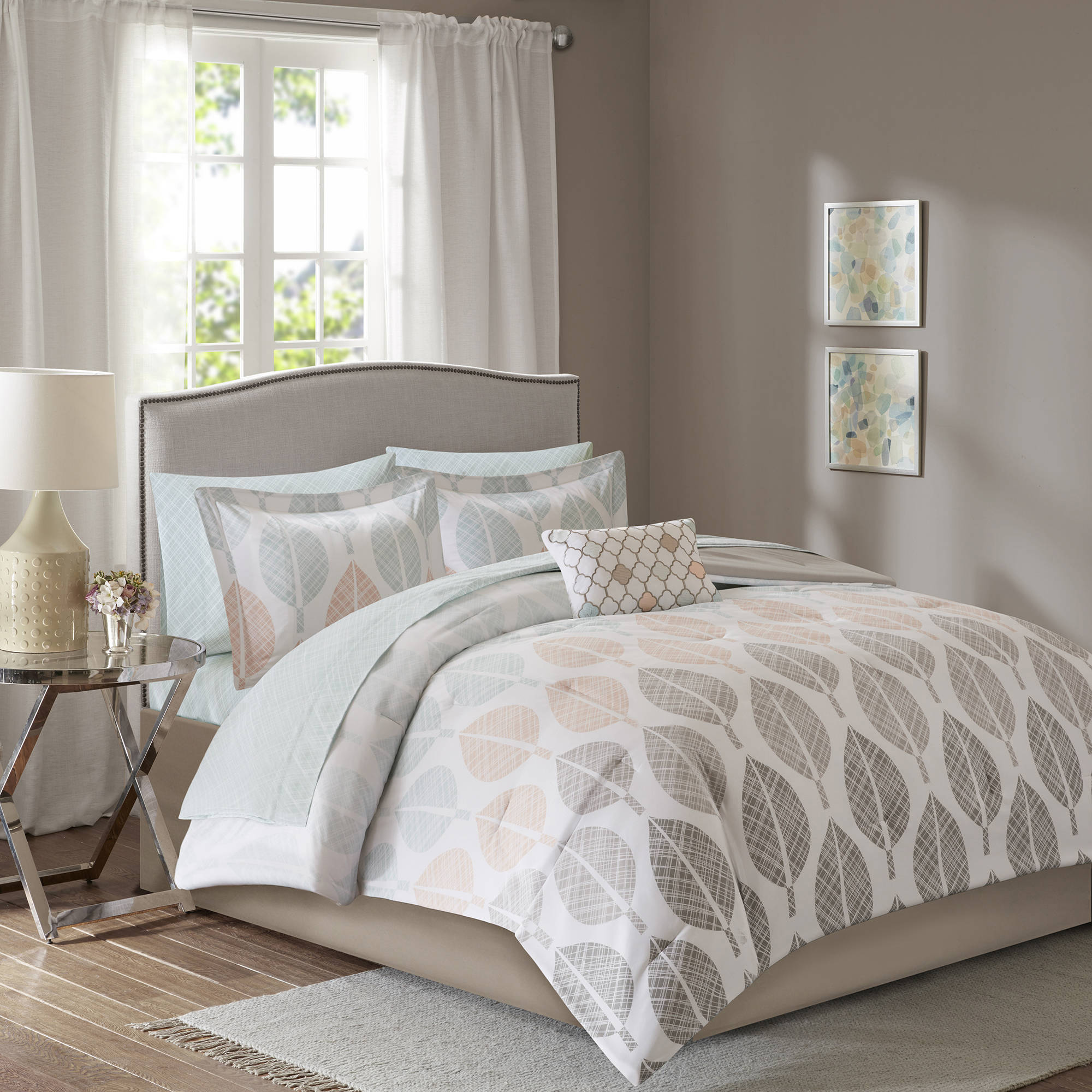 Home Essence Prospect Park Complete Bed and Sheet Set