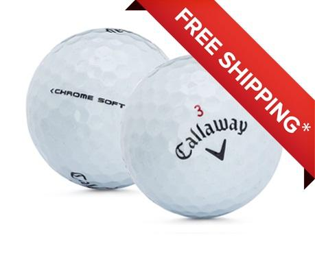 2 Dozen Callaway Chrome Soft Mint Quality Golf Balls