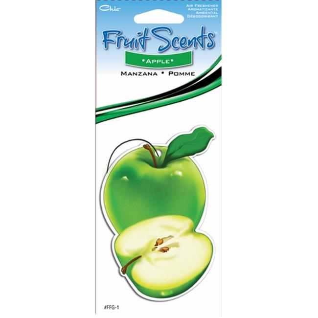 C Accessories Paper Fresh Apple Hanging Tree Style Air Freshener