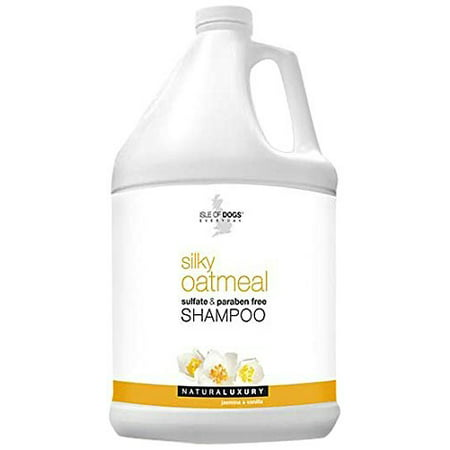 Isle Of Dog Silky Shampoo W Oatmeal 1