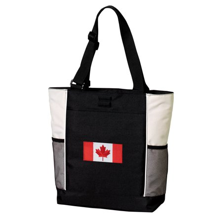 Deluxe Canada Flag Tote Bag Best Canada Totes
