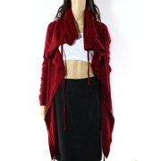 Shae NEW Red Women's Size Small S Draw String Kimono Sweater