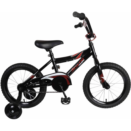 "16"" Piranha Tailspin Boys' Bicycle, Black by Cycle Force Group"