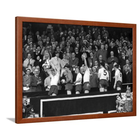 FA Cup Final at Wembley Stadium, Tottenham Hotspur vs Burnley Framed Print Wall (Liverpool Vs West Ham Fa Cup Final)