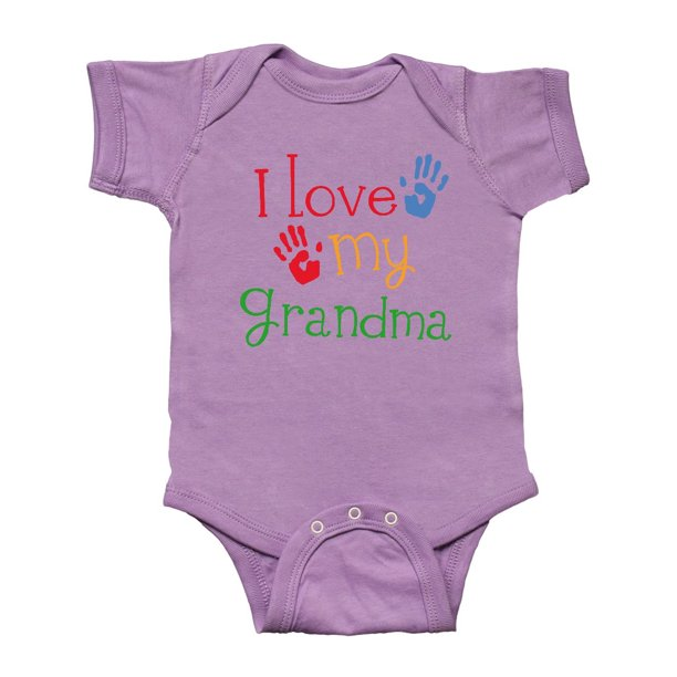 I Love My Grandma Infant Creeper