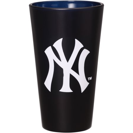 - New York Yankees 16 oz. Team Color Frosted Pint Glass - No Size