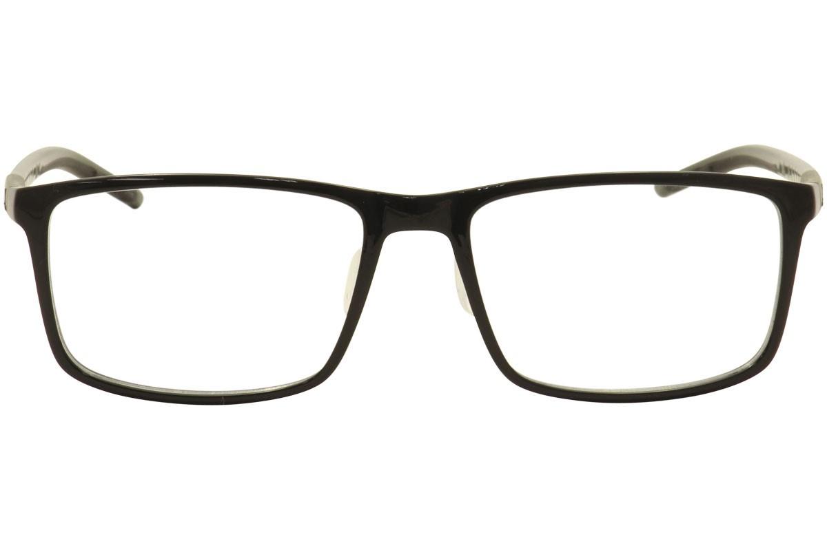 4a36877b2e Adidas Eyeglasses Litefit 2.0 AF4610 692 10 6113 Black Olive Optical Frame  56mm - Walmart.com