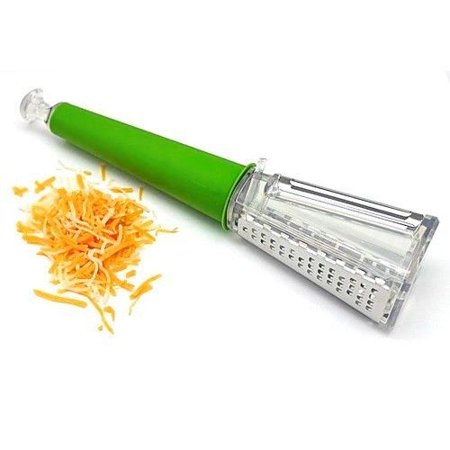 Cat Cora 3-in-1 Grater and Peeler with Fine and Coarse Grates and Slicer Blade ()