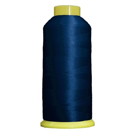 Threadart Polyester Machine Embroidery Thread  Huge 5000M (5500 Yard) Cones 40wt  For Brother Babylock Janome Bernina Embroidery & Sewing Machines  No. 232 - Blue Ribbon - 160 Colors Available This high sheen polyester thread for machine embroidery has outstanding tensile strength and color-fastness. Polyester thread offers outstanding performance for today's sophisticated computerized sewing machines. 5000m king size cones (2200yds)  100% Polyester. 40 wt.