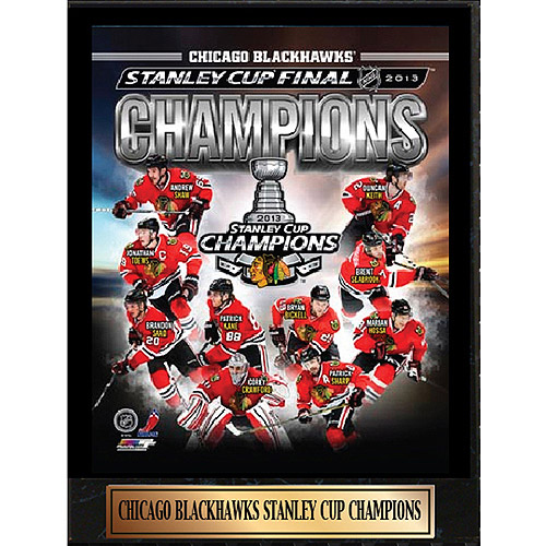 NHL Chicago Blackhawks Photo Plaque, 9x12