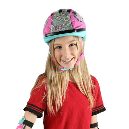 LOL Surprise 2D Kids Helmet - Kids Steelers Helmet