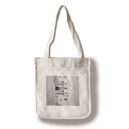The Alamo in San Antonio, TX  Photograph #1 (100% Cotton Tote Bag - Reusable)