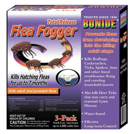 Bonide Total Release Flea Fogger - 3 pk.