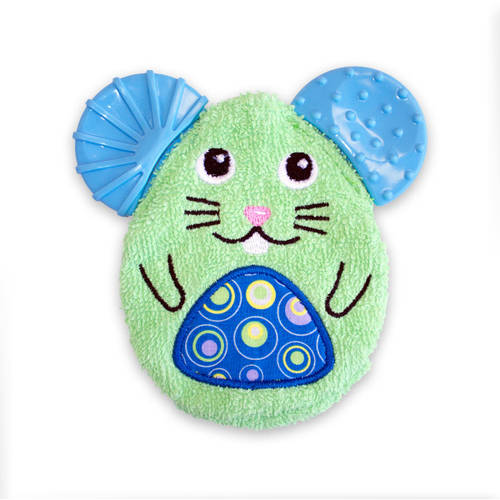 NUK Cool Critters Washcloth Teether