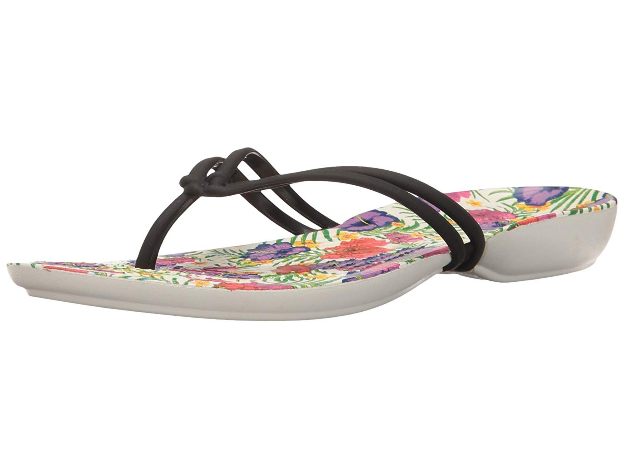 8a799b88085a9 Crocs Women s Isabella Graphic Flip