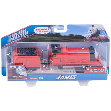 Thomas & Friends Fisher-Price TrackMaster, Motorized James Engine