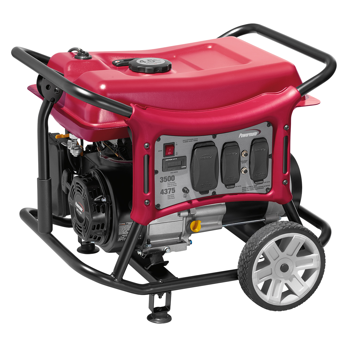 Powermate 3500 Watt Portable Generator, CARB