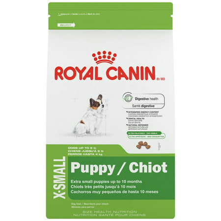 Royal Canin Small Breed Puppy Formula Dry Dog Food, 3 lb