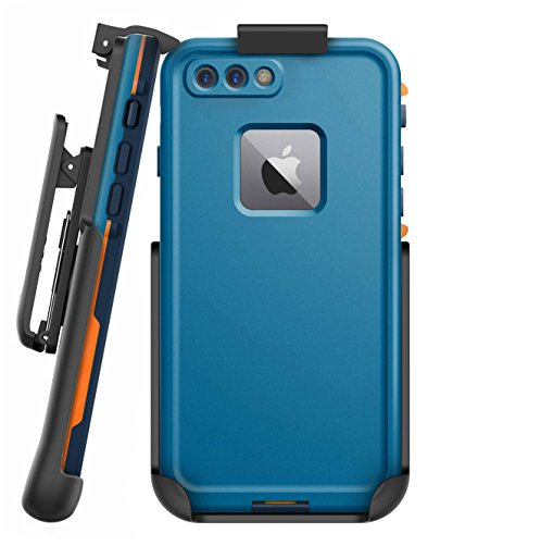 """Encased Belt Clip Holster for Lifeproof Fre Case - iPhone 8 Plus 5.5"""" (case not included)"""
