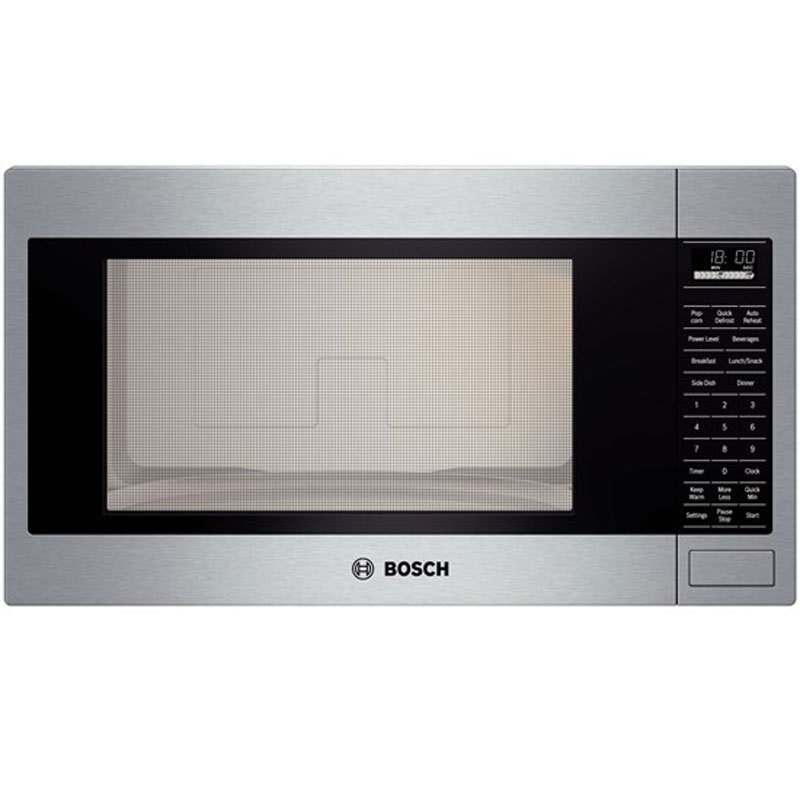 Bosch HMB5051 500 Series Built-In Microwave Oven with 2.1...