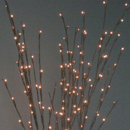 Warm Light LED Willow Branch Lamp Floral Lights Can Put In Vase Desk Home Décor ()