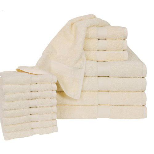 Homestead Textiles Ring Spun Cotton Line 16 Piece Towel Set