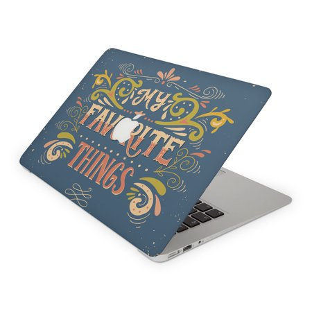My Favorite Things Vintage Skin For The Apple Macbook Laptop  All Versions Available