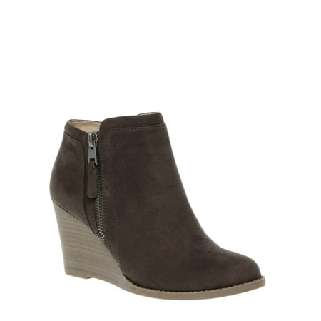Womens Time And Tru Wedge Boot (Boot Wedges For Women)