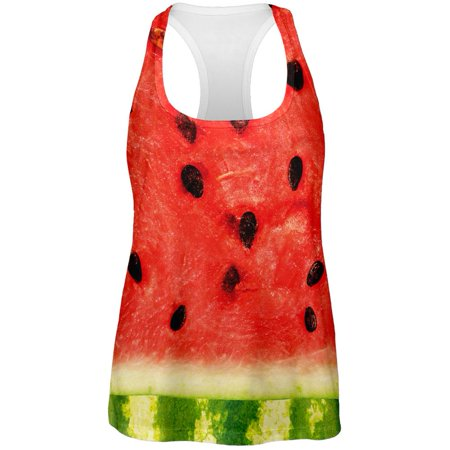 Watermelon Costume All Over Womens Tank Top for $<!---->