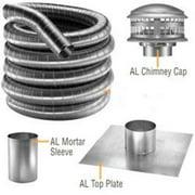 """DuraVent 55DF304-35K Stainless Steel 5.5"""" Inner Diameter"""