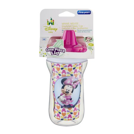 Disney Minnie Mouse Hardspout Sippy Cup, 9 Oz, 2 Pk