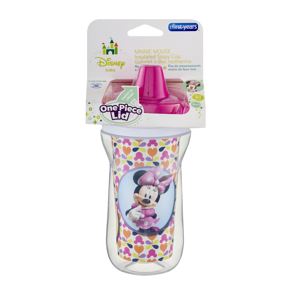 Disney Insulated Hard Spout Sippy Cup - Minnie Mouse