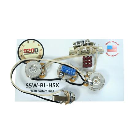 920d fender stratocaster wiring harness w blender for jbe two tone humbucker. Black Bedroom Furniture Sets. Home Design Ideas