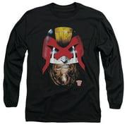 Judge Dredd - Dredds Head - Long Sleeve Shirt - Large
