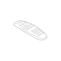 Genuine OE GM Remote Control 20929305