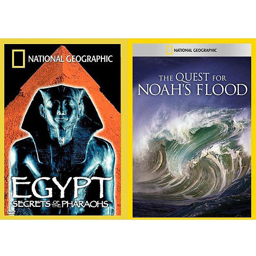 National Geographic: Egypt - Secrets Of The Pharaohs / The Quest For Noah's Flood (Full Frame)