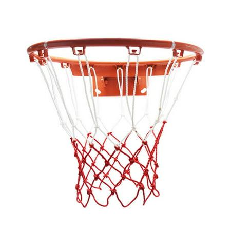 Two-Piece Set Thickened Wear-Resistant Basketball Net 12 Loops Basket Net - image 1 de 8