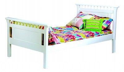 Bolton Furniture 9851500 Bennington Twin Bed, White Home Bedroom Furniture Istilo117670 by GSS