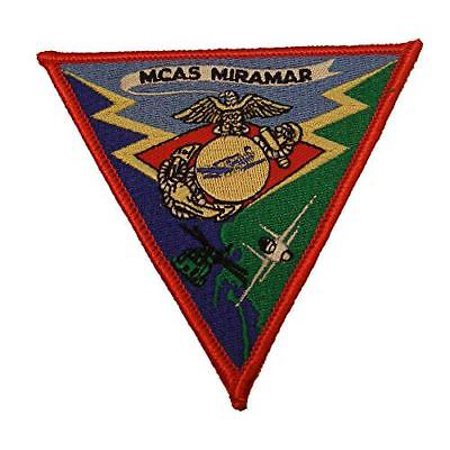 Usmc Air (USMC MARINE CORPS AIR STATION MCAS MIRAMAR CA PATCH VETERAN AIR WING )