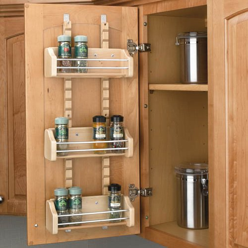 Awesome Rev A Shelf Adjustable Door Mount Spice Rack