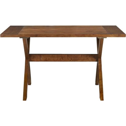 Dorel Living Trestle Dining Table, Dark Pine by Dorel Asia