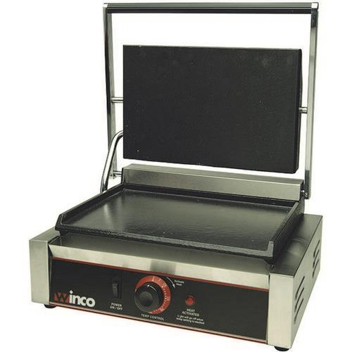 Winco - ESG-1 - 14 in Single Sandwich Grill