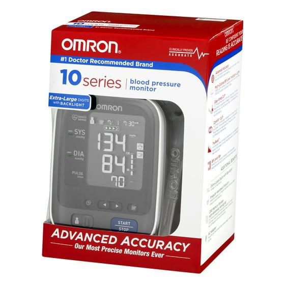 Omron 10 Series Upper Arm Blood Pressure Monitor With Cuff Walmart