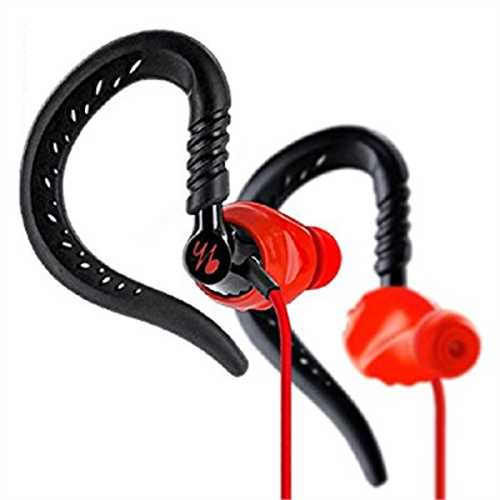 Refurbished Yurbuds Focus 300 Fitness Headphones (Red)
