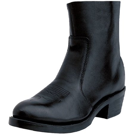 Durango Western Boots Mens 7 Side Zipper Cowboy Heel