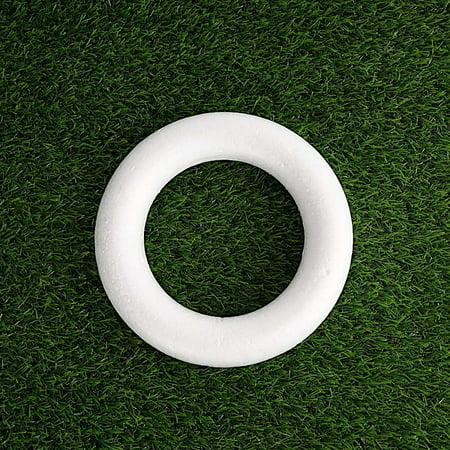 Foam Wreath (BalsaCircle White 12 pcs 8
