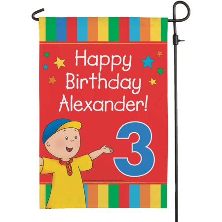 Personalized Caillou Happy Birthday - Party City Caillou