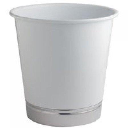 InterDesign York Waste Can White -