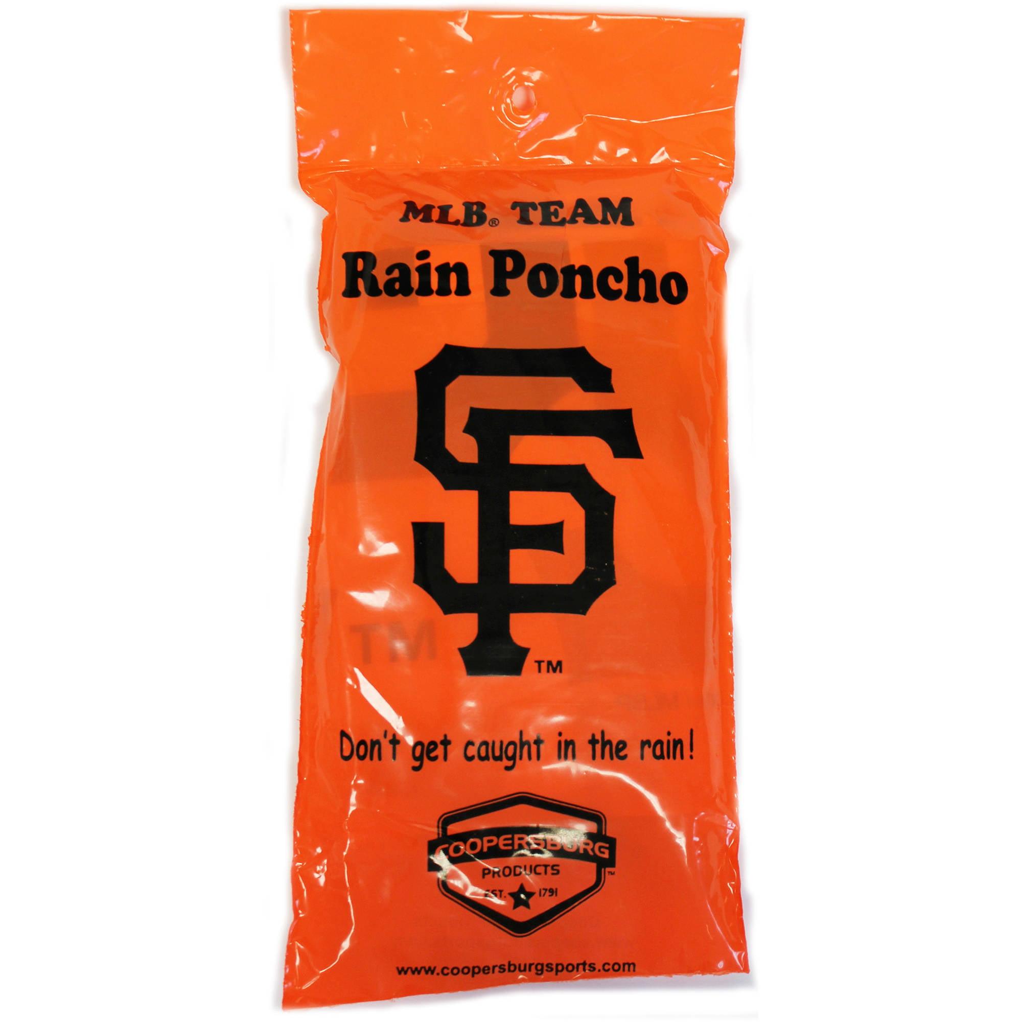 MLB San Francisco Giants Rain Poncho by Generic