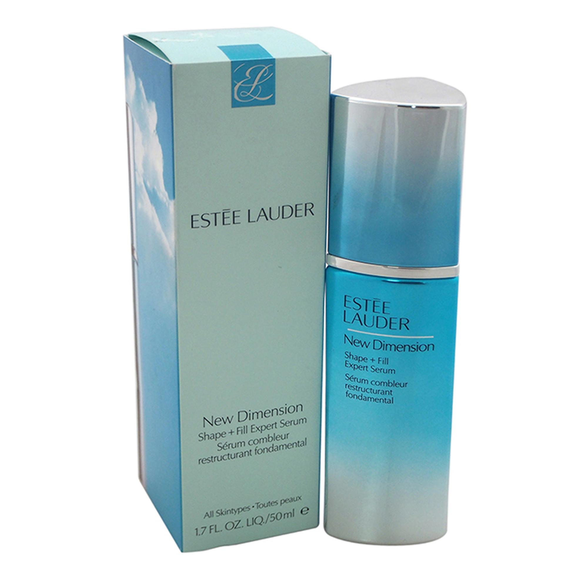 New Dimension Shape + Fill Expert Serum - All Skin Types by Estee Lauder for Women - 1.7 oz Serum